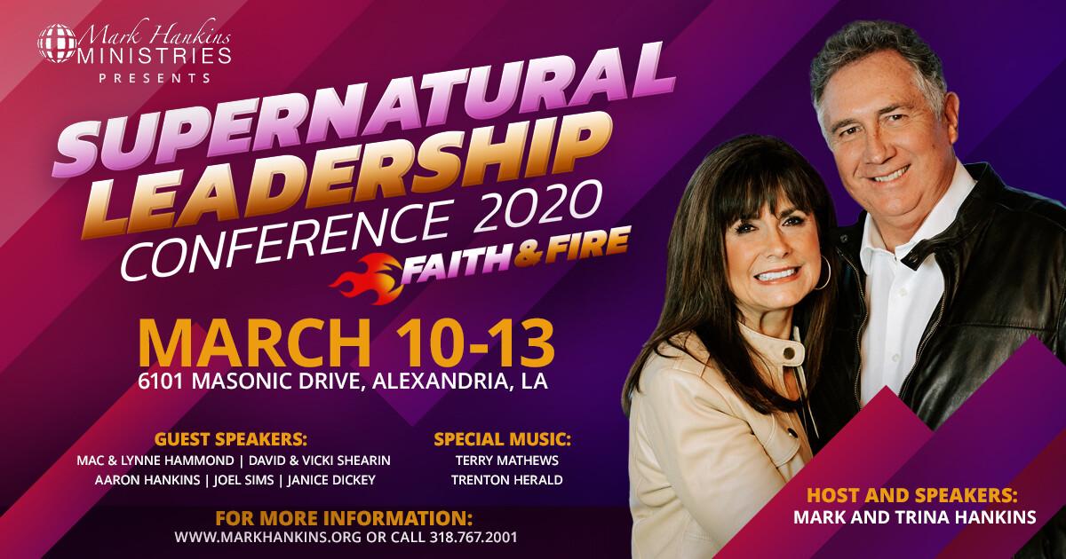 Supernatural Leadership Conference